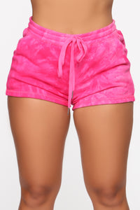 Forever Daydreaming 3 Piece Short Set - Fuchsia