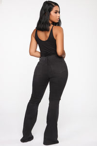 Spend On Me Bodysuit - Black