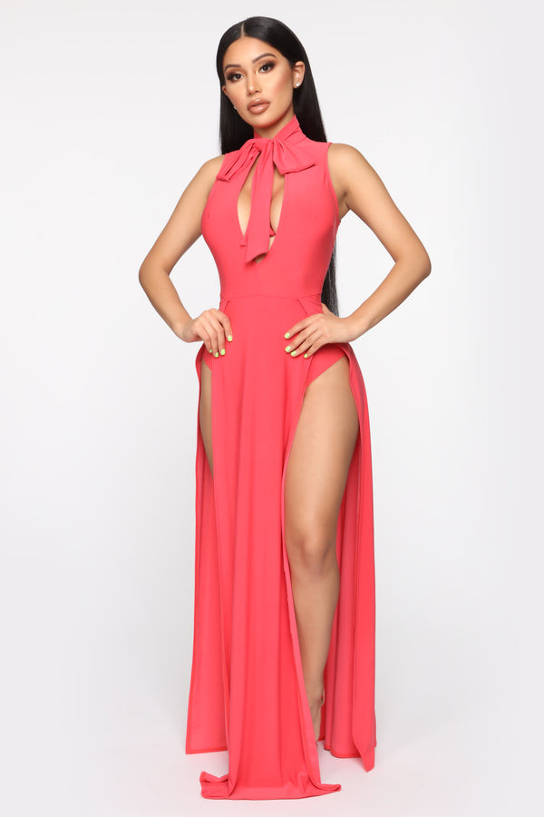 d3268a788b6 Proper Moment Maxi Dress - Red