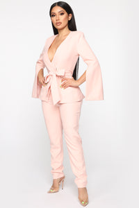 Sitting Pretty Suit Set - Mauve Angle 3