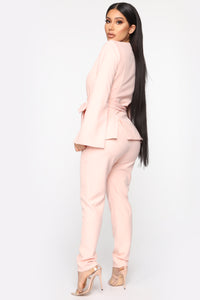Sitting Pretty Suit Set - Mauve Angle 5