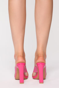 Searching For You Heeled Sandal - Fuchsia