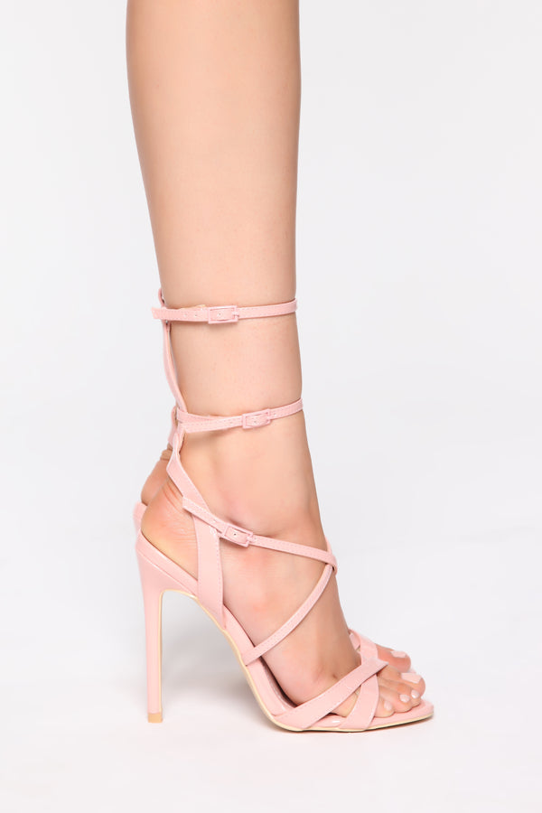 15551b6b73 Mystical Heeled Sandals - Blush