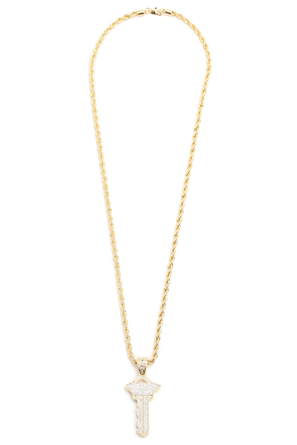 I Got The Keys Chain Necklace - Gold