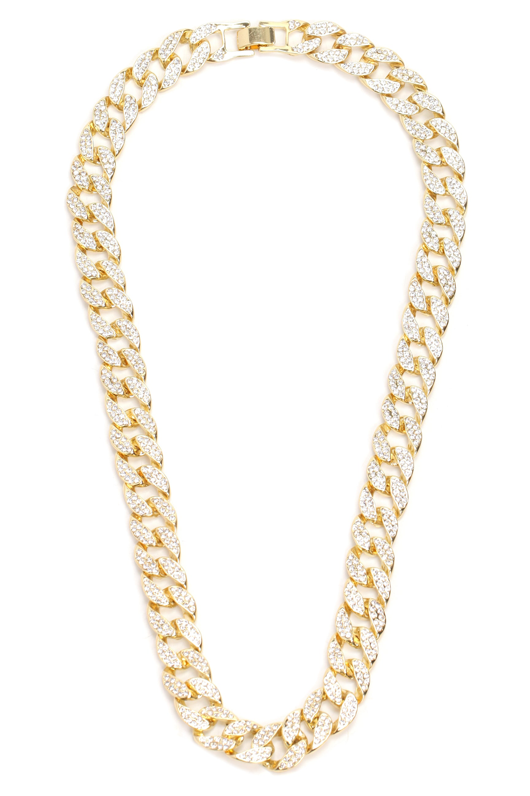 59fe1095ea Big Gold Chain Necklace - Gold