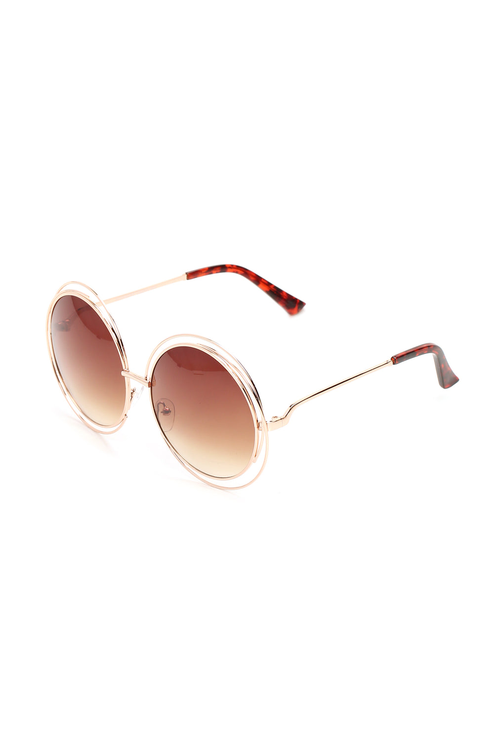 Fall In Deep Sunglasses - Gold