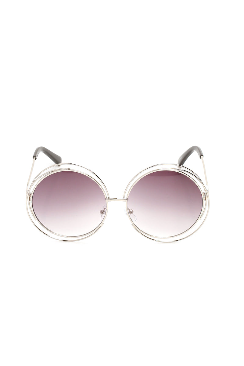 Fall In Deep Sunglasses - Silver