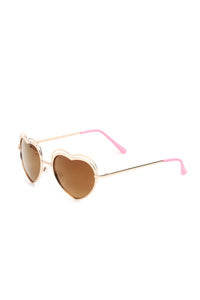 Love Sick Sunglasses - Gold