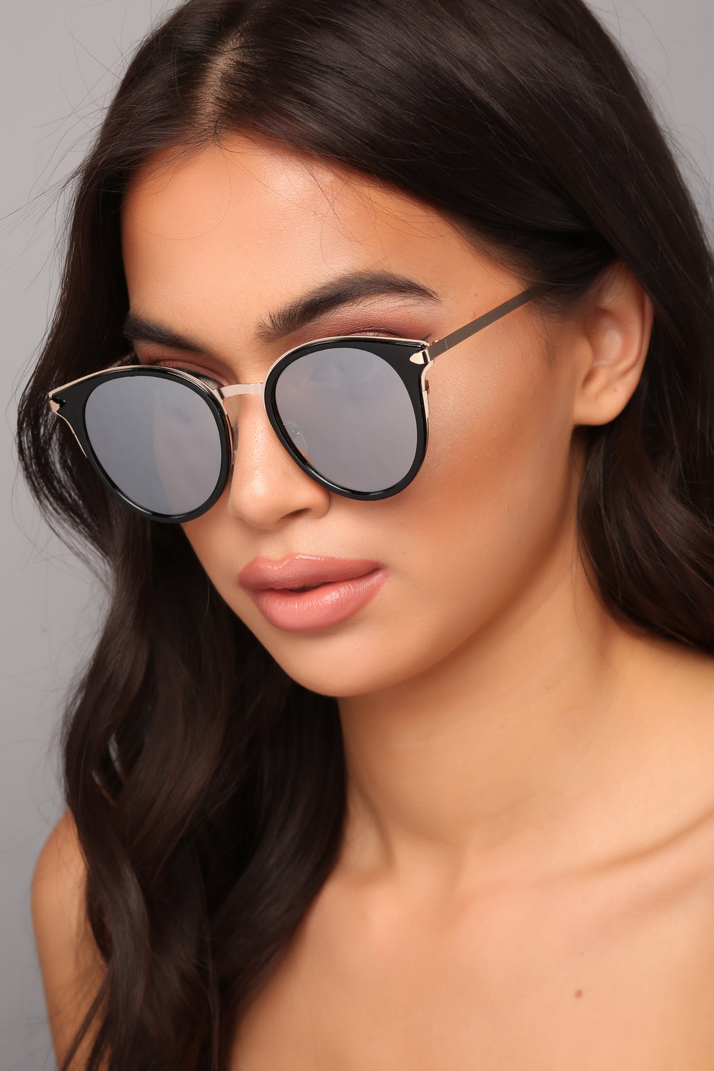 Guess What Sunglasses - Black/Silver