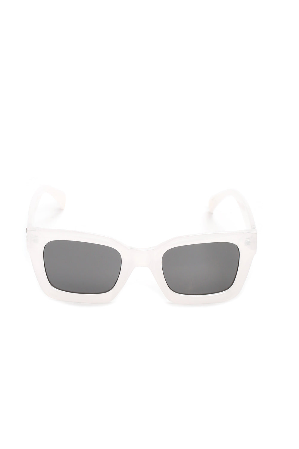 Hang In There Sunglasses - White