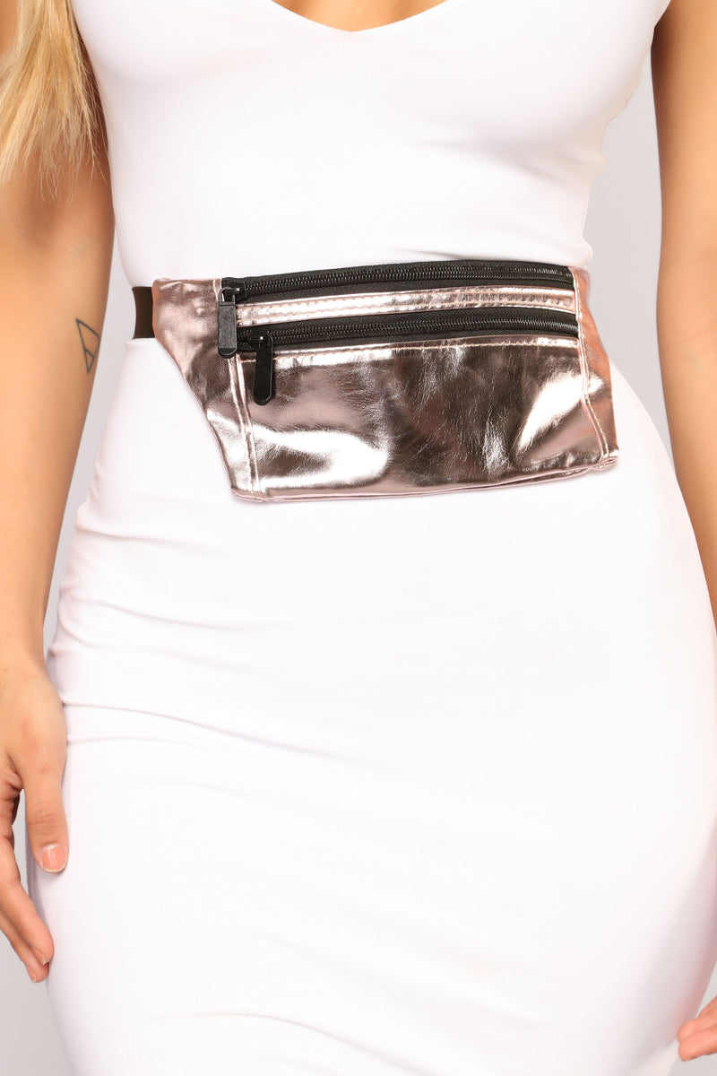 The Essential Fanny Pack - Rosegold