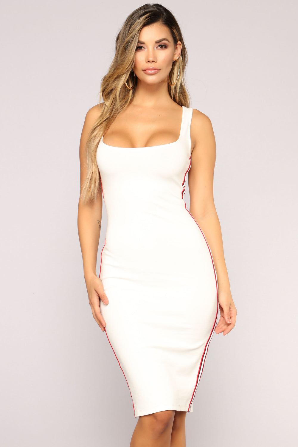 Memory Lane Dress - White