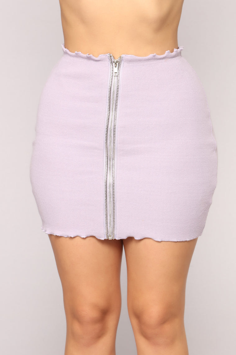 Only Love Ribbed Set - Lavender