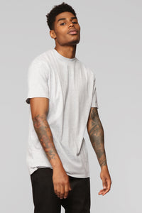 Smith Short Sleeve Tee - Grey