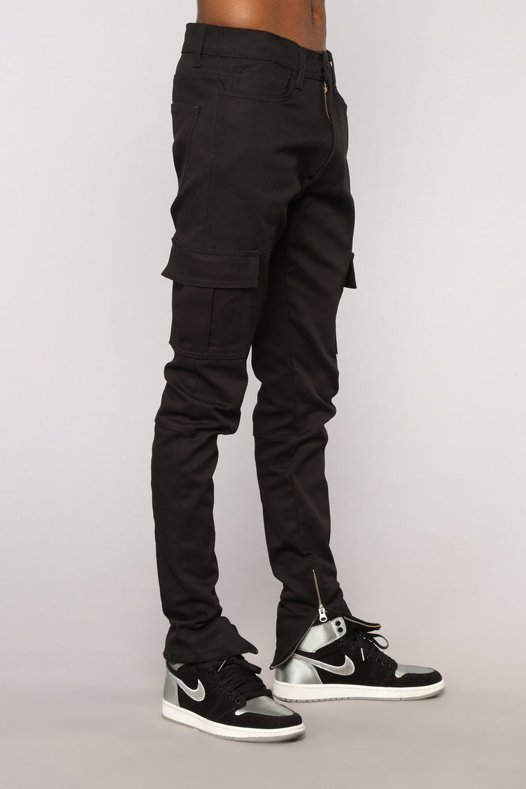 Chancelor Cargo Pants - Black