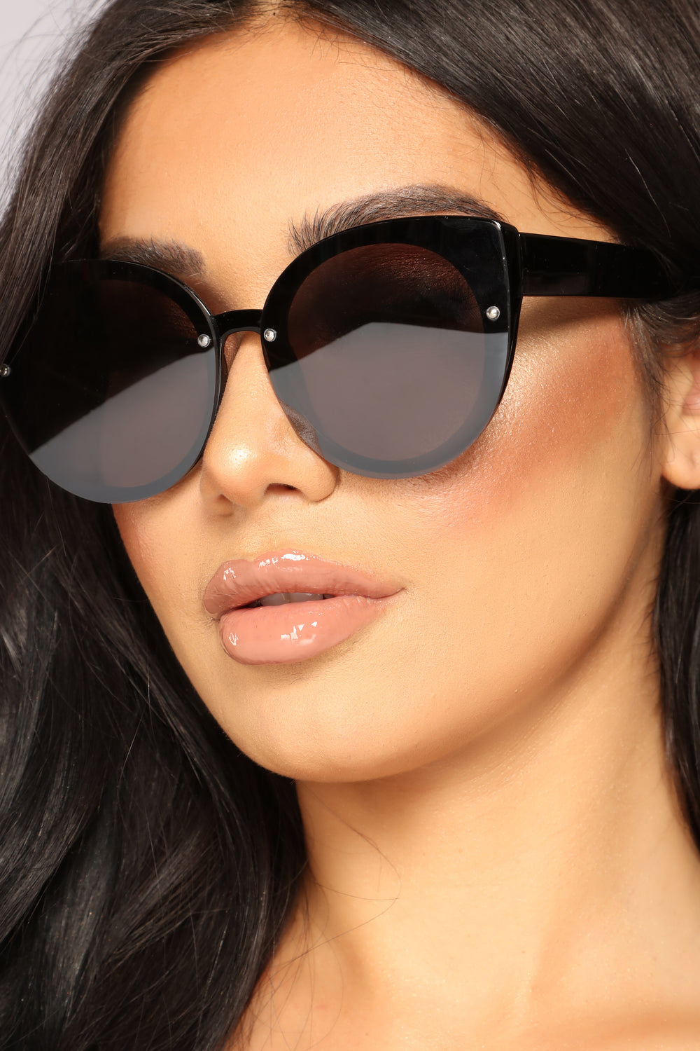 French Kiss Sunglasses - Black
