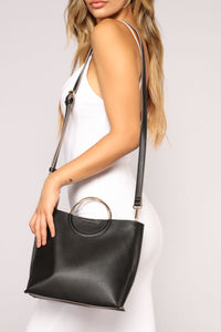 Strut The Streets Handbag - Black