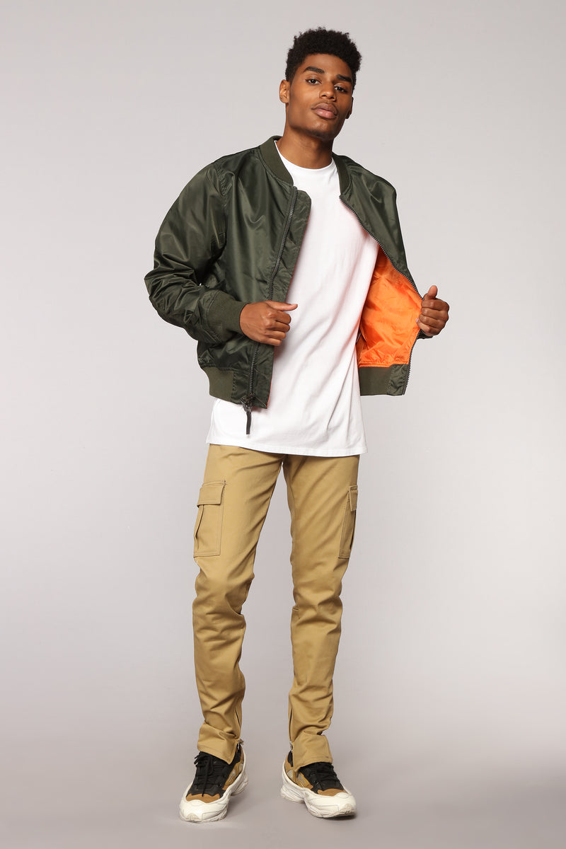 Chancelor Cargo Pants - Khaki