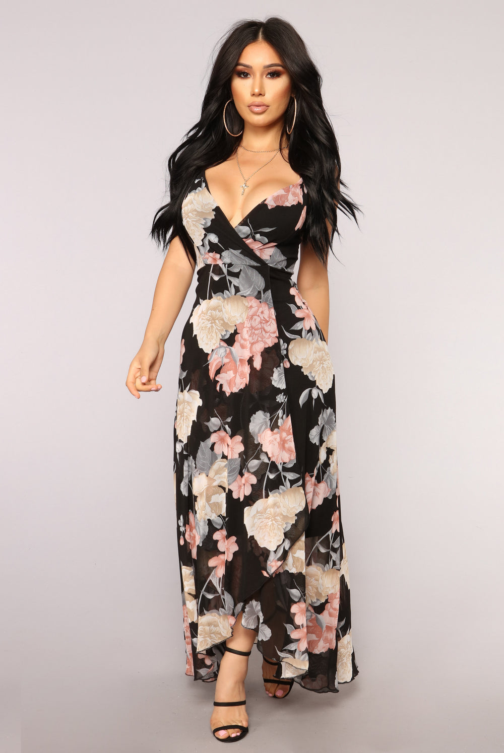 How Lovely High Low Dress - Black