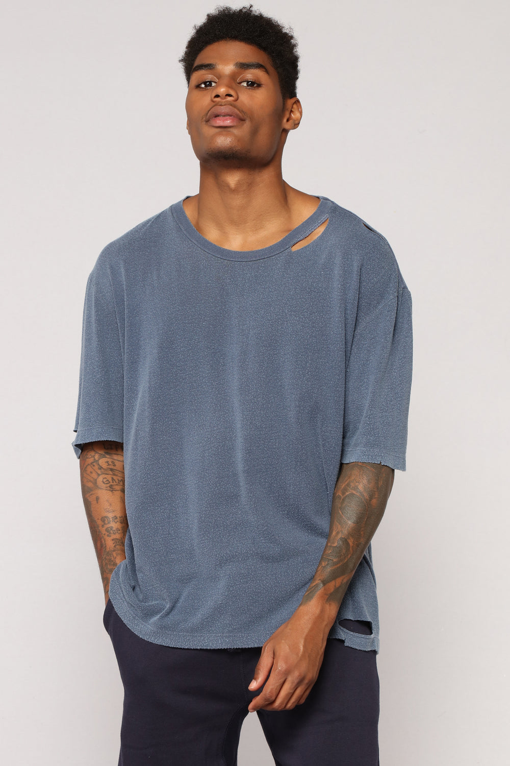 Jasper Short Sleeve Tee - Navy