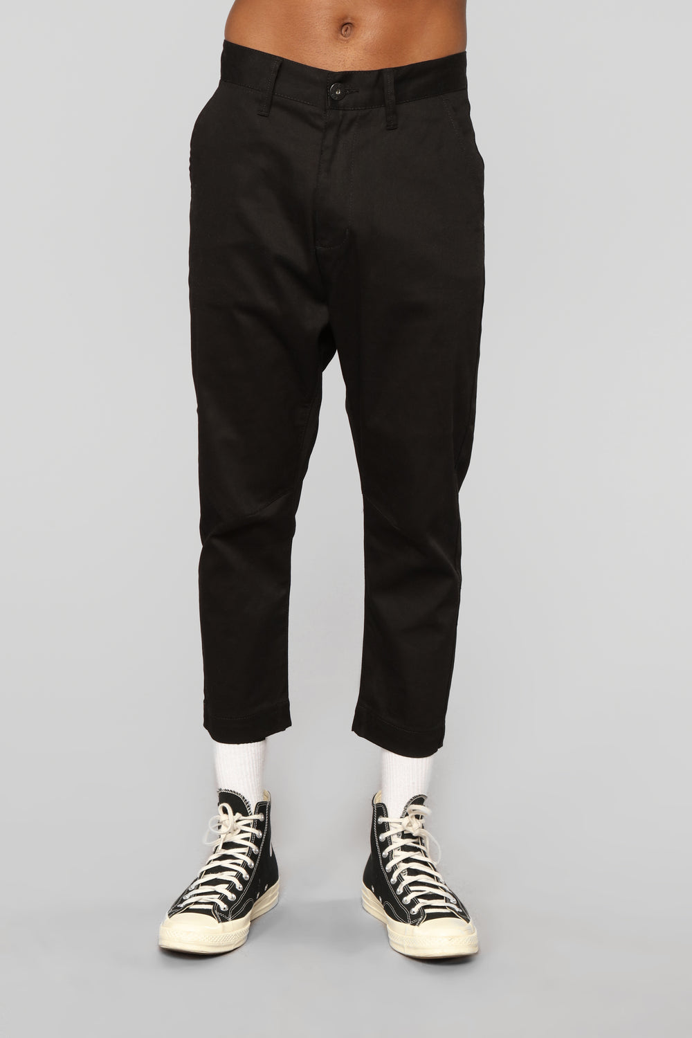 Calvin Crop Pant - Black