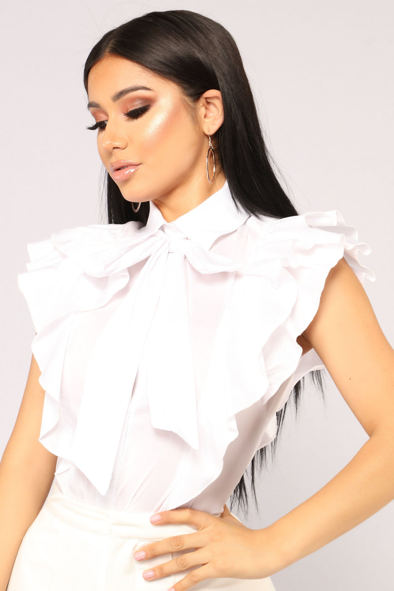 Ruff Feelings Top - White