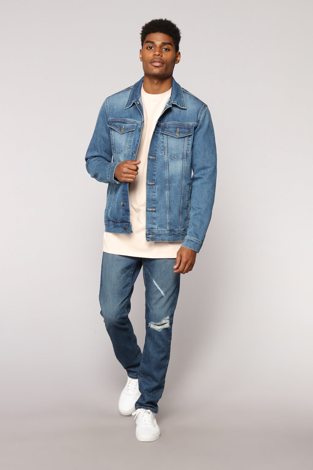Herlo Denim Jacket - MediumWash