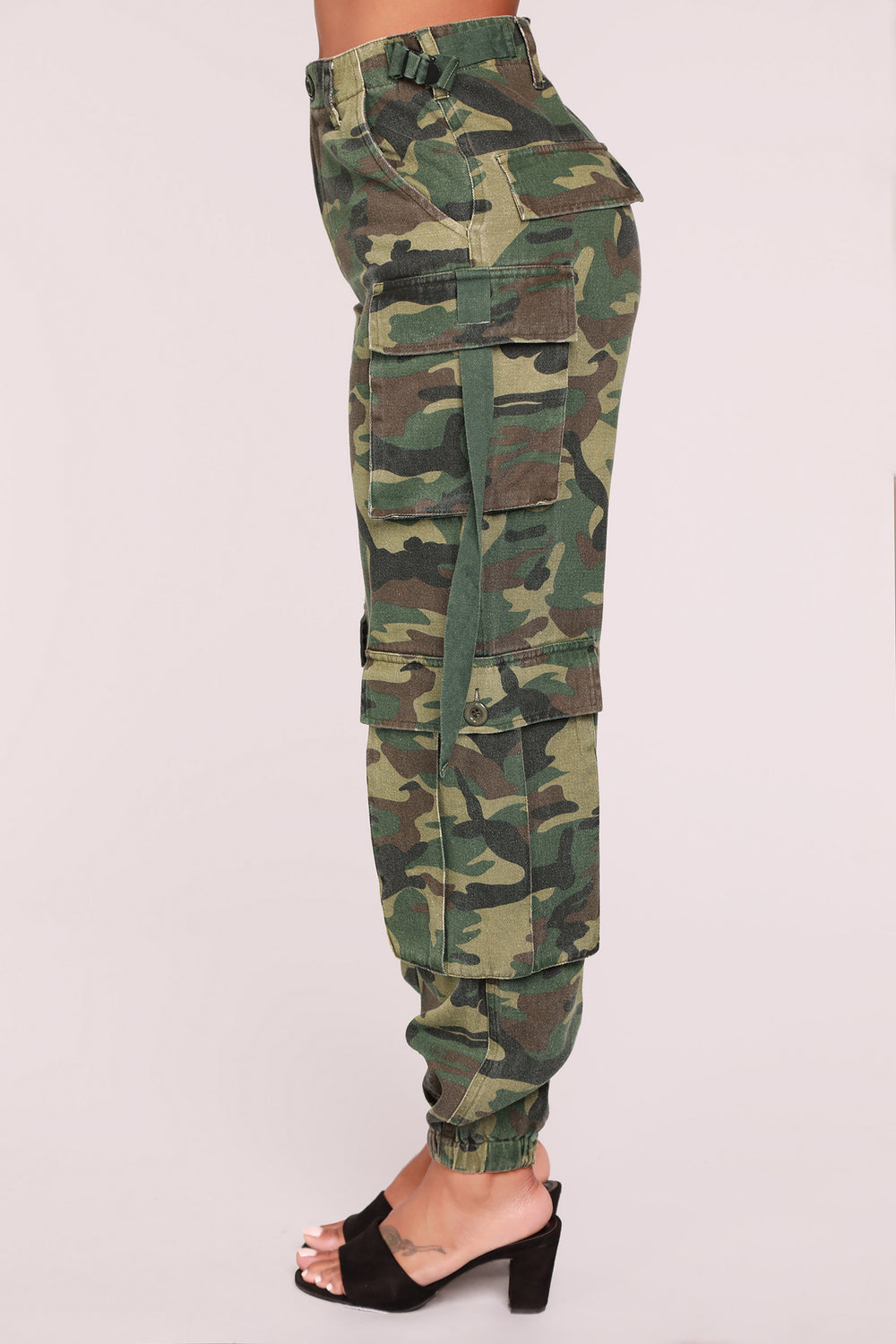 Commander Of Attention Cargo Pants - Olive