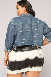 Old Town Denim Jacket - Medium Denim