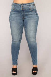 Really Big Team Skinny Jeans - Dark Denim