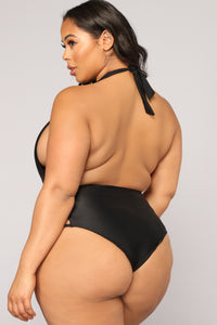 Sink Or Swim Swimsuit - Black Angle 6