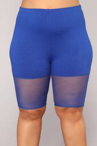 Maisie Short Set - Royal
