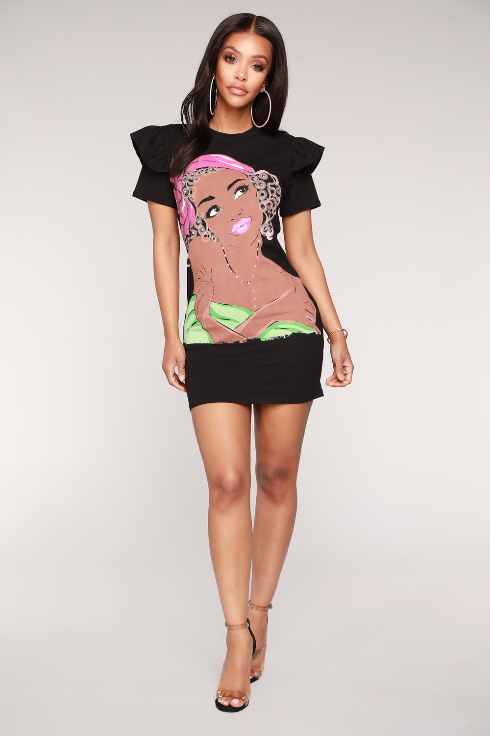 Day Dreaming About You Tee - Black