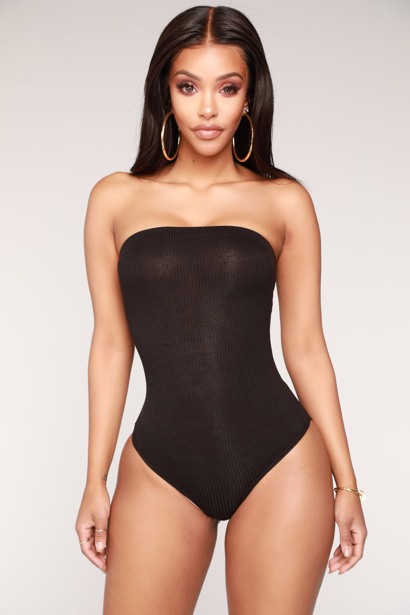 de7fb7867c Mia Tube Bodysuit - Black