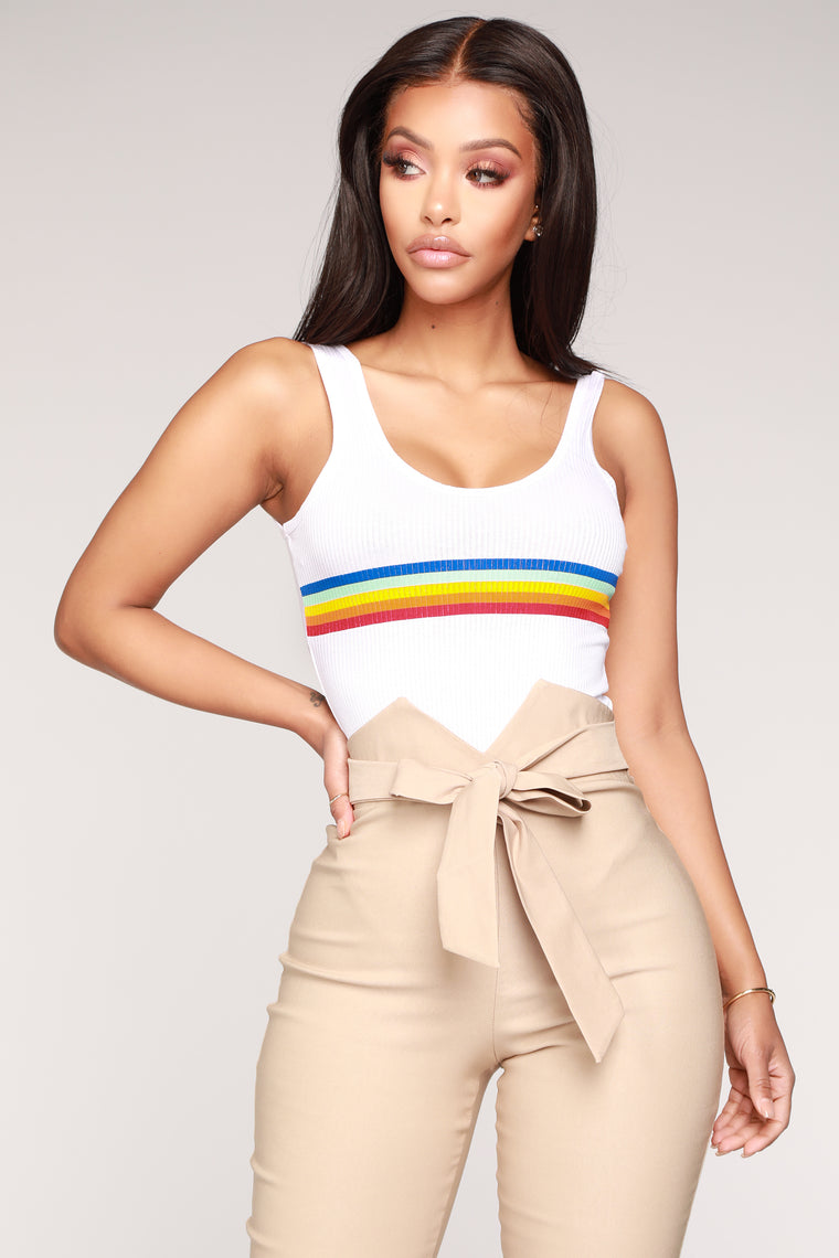 Color Your World Bodysuit - White