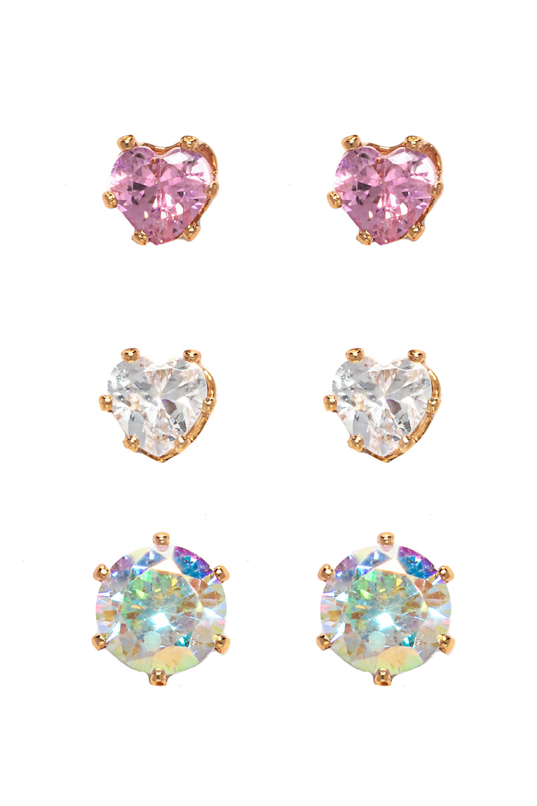 Something Different Earring Set   Multi by Fashion Nova