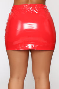 Club Night Skirt - Red