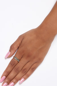 Gemini Astrology Ring - Gold