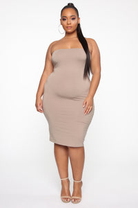 Rhianna's Love Dress - Mocha