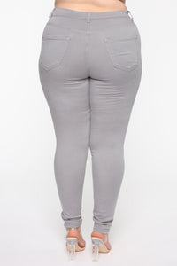 Canopy Jeans - Grey Angle 11