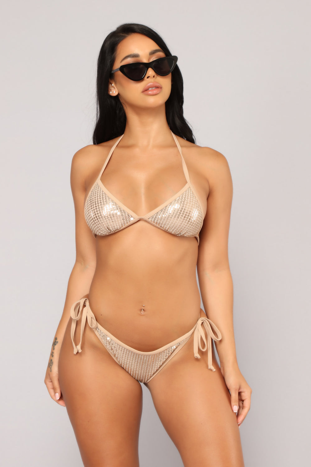 Island Treasure Bikini - Gold