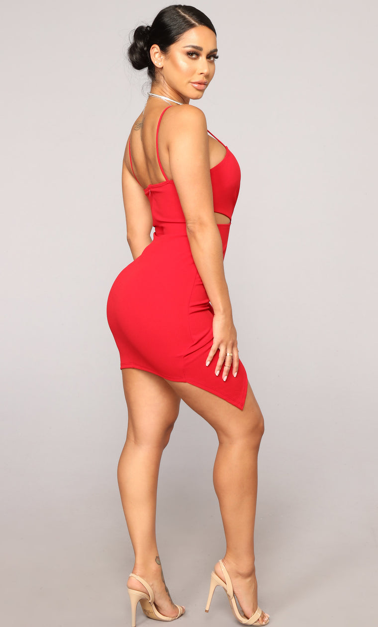 Hot Hot Hot Dress - Red