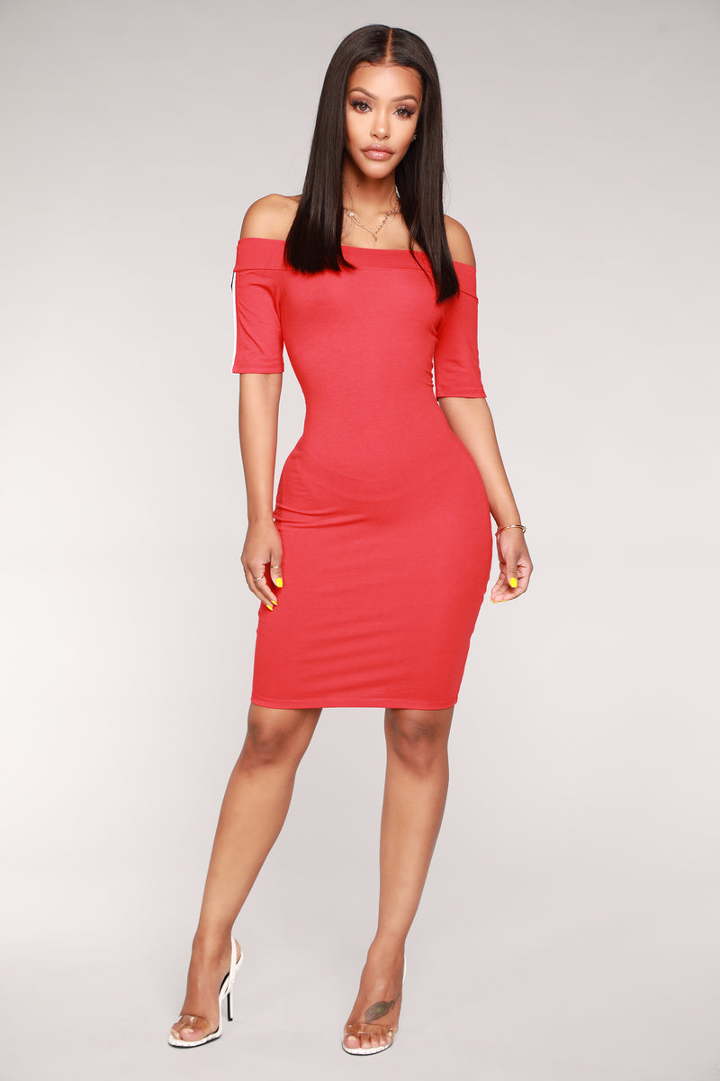 In Play Athletic Dress - Red