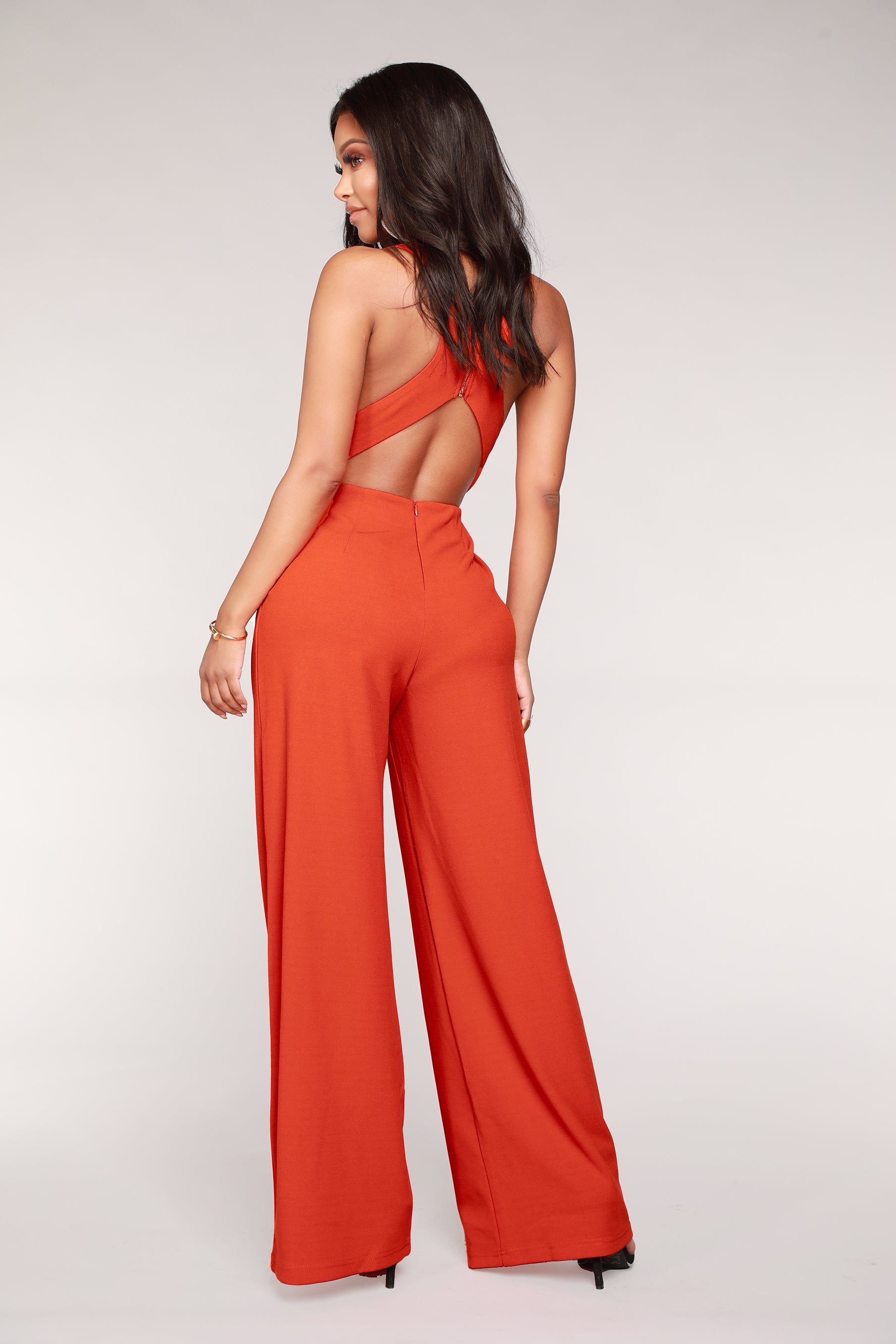 ad960a1b8e0 Love Game Jumpsuit - Orange