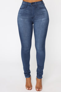 Eva Super Soft Curvy Skinny Jean - Medium Wash Angle 1