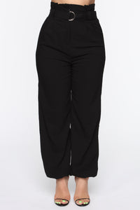Season's Anthem Pant Set - Black