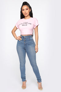 Love Don't Pay The Bills Top - Pink