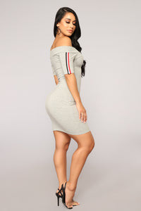 In Play Athletic Dress - Heather Grey