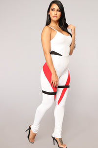 Fierce Jumpsuit - White