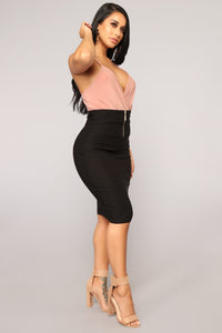 Schedule Me In Skirt - Black